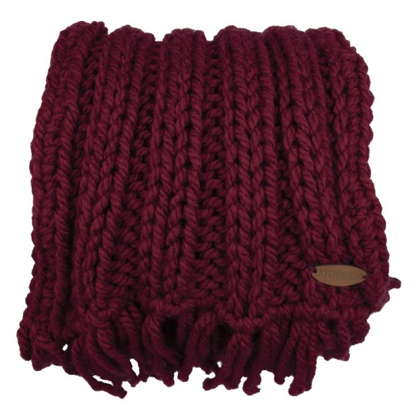 STOBBIES Shawl rood